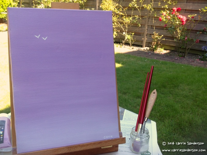 From Purple Paint To Purple Paintings