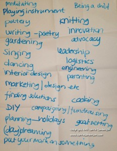 JCI Workshop Flip Chart Notes