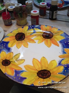 Playing with Plate Painting