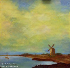 Dutch landscape and sky