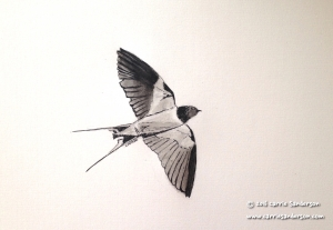 As Swift As A Swallow - Carrie Sanderson Original