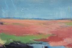 The-Farmers-Field-In-Spring-East-Lothian-Carrie-Sanderson-Artist