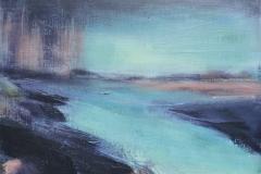 Traprain-Law-Seen-From-Belhaven-Bay-Carrie-Sanderson-Artist