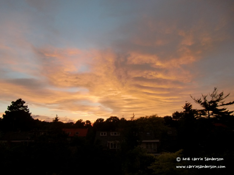 Inspiring Sunsets From My Window